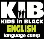 """ANGĻU valodas mācību un piedzīvojumu nometne """"KIDS in BLACK"""""""